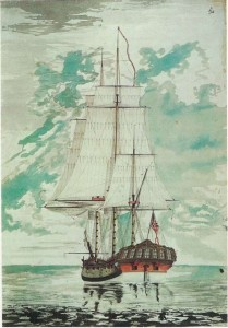 Cook's second ship, HMS Resolution